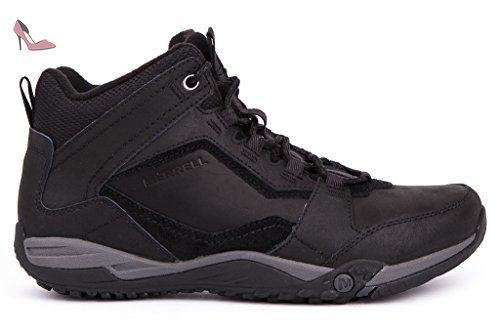 Merrell Helixer Scape Mid North, Chaussures de Randonnée Basses Homme, Noir  (Black)