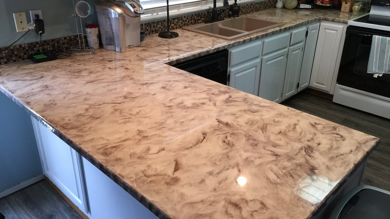 Metallic Epoxy Diy Customer Installs Of Our Countertop