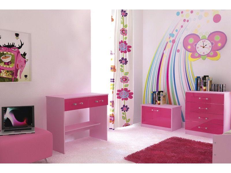 Girls Bedroom Furniture Ottawa High Gloss Pink 5 Piece Girls Bedroom Furniture Girls Bedroom Furniture Sets Pink Bedroom Set Pink Bedroom Furniture