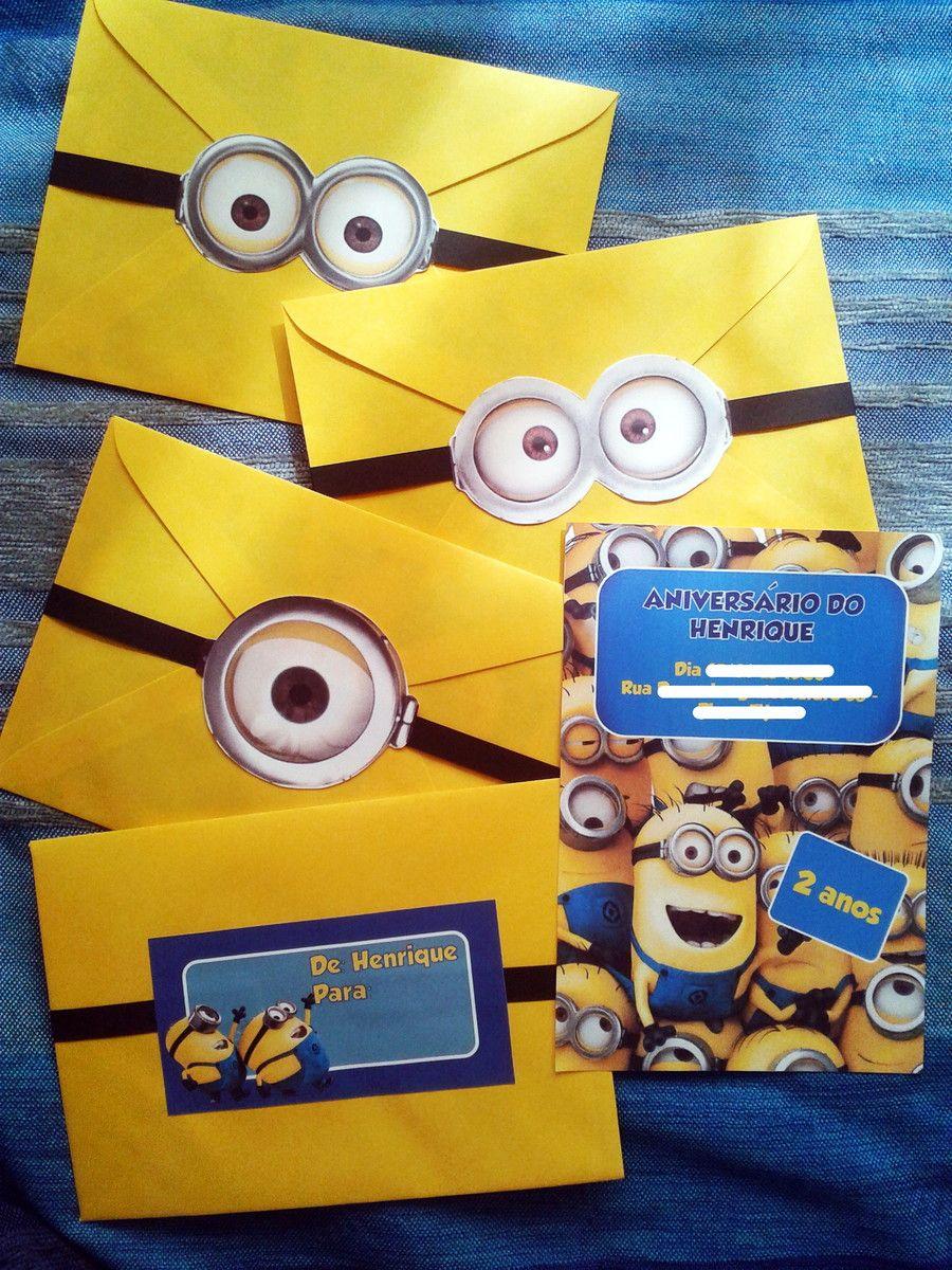 tarjeta de cumpleaos divertida para fiesta de cumpleaos minions