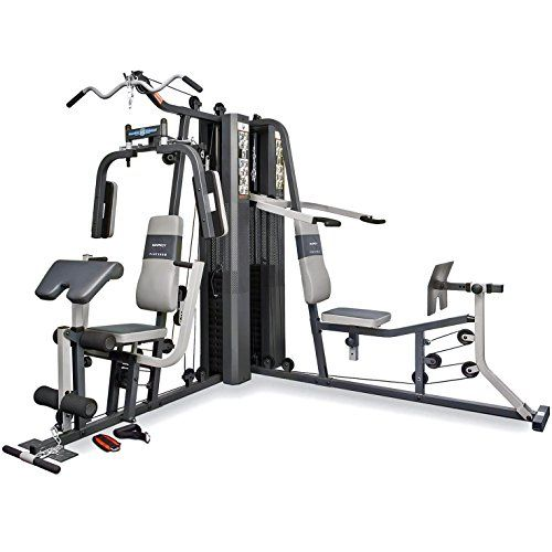 Marcy gs99 dual stack home gym leg press 2 users 2 x 65 kg leg press gym and running wear