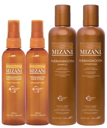 Mizani Thermasmooth Curl Types Ii Viii Our 4 Step Thermal