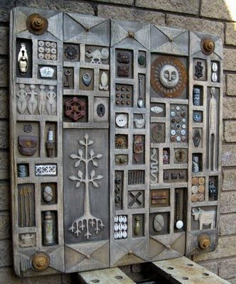 Metal door by Robin gordon & By artist Robyn Gordon. This is just gorgeous! | Art I Love ...