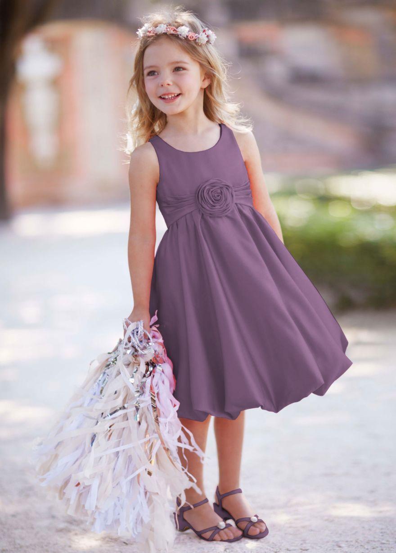 Flower girl dress in wisteria | Fall wedding ideas for Alicia ...