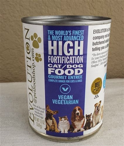 Evolution Diet Vegan Cat Dog Food Cans Gourmet Entree Gourmet Entrees Healthy Dog Food Recipes Foods Bad For Dogs