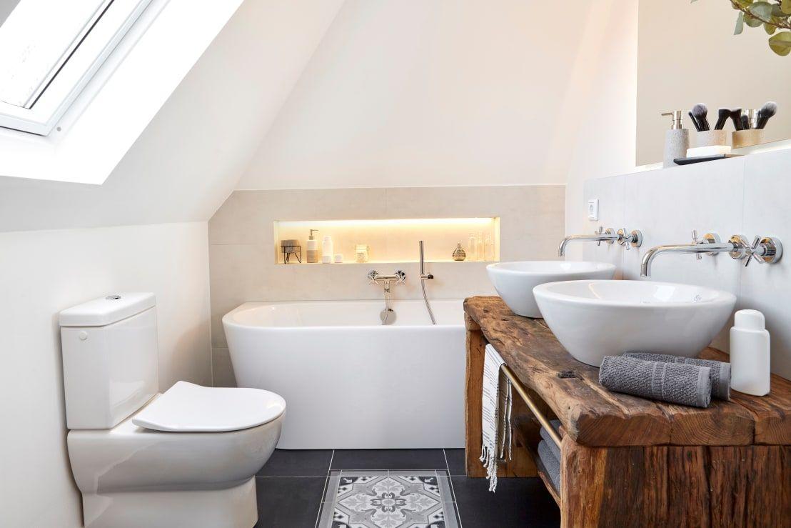 Badezimmer im klassisch modernen Landhausstil von Banovo ...