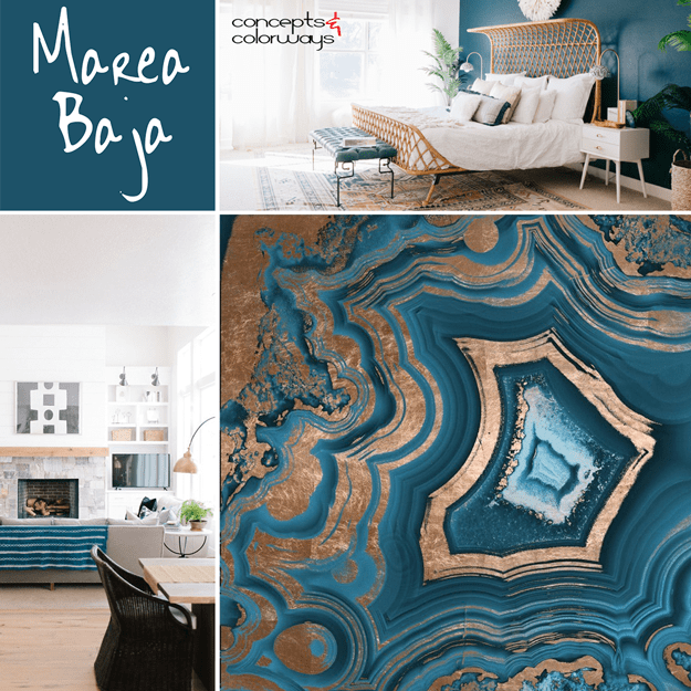 Pin On Sherwin Williams Marea Baja #royal #blue #and #gold #living #room #ideas