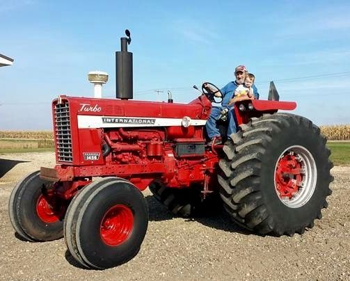 Ih 1456 Tractor : Ih farmall pinterest tractor and case