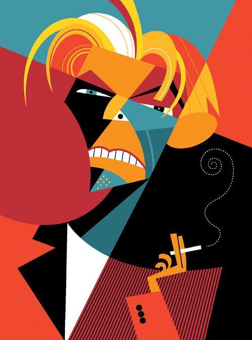 David Bowie on Behance