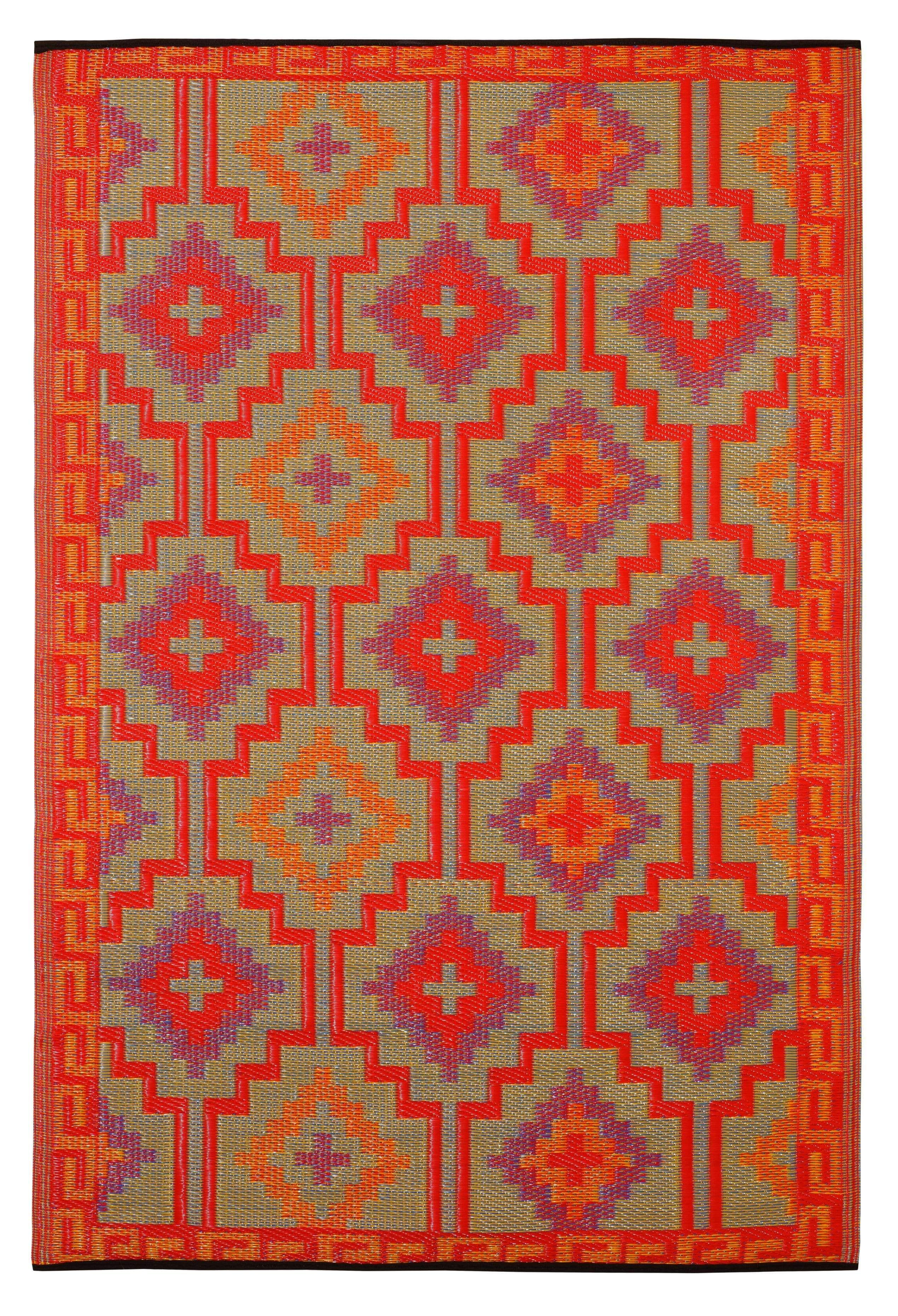 Lhasa Orange Violet Rug In 2020 Fab Habitat Rugs Outdoor Rugs