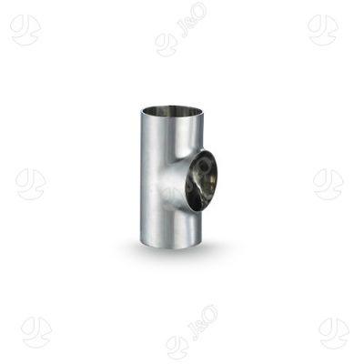 DIN welded straight end equal tee   Sanitary Fittings   Tees