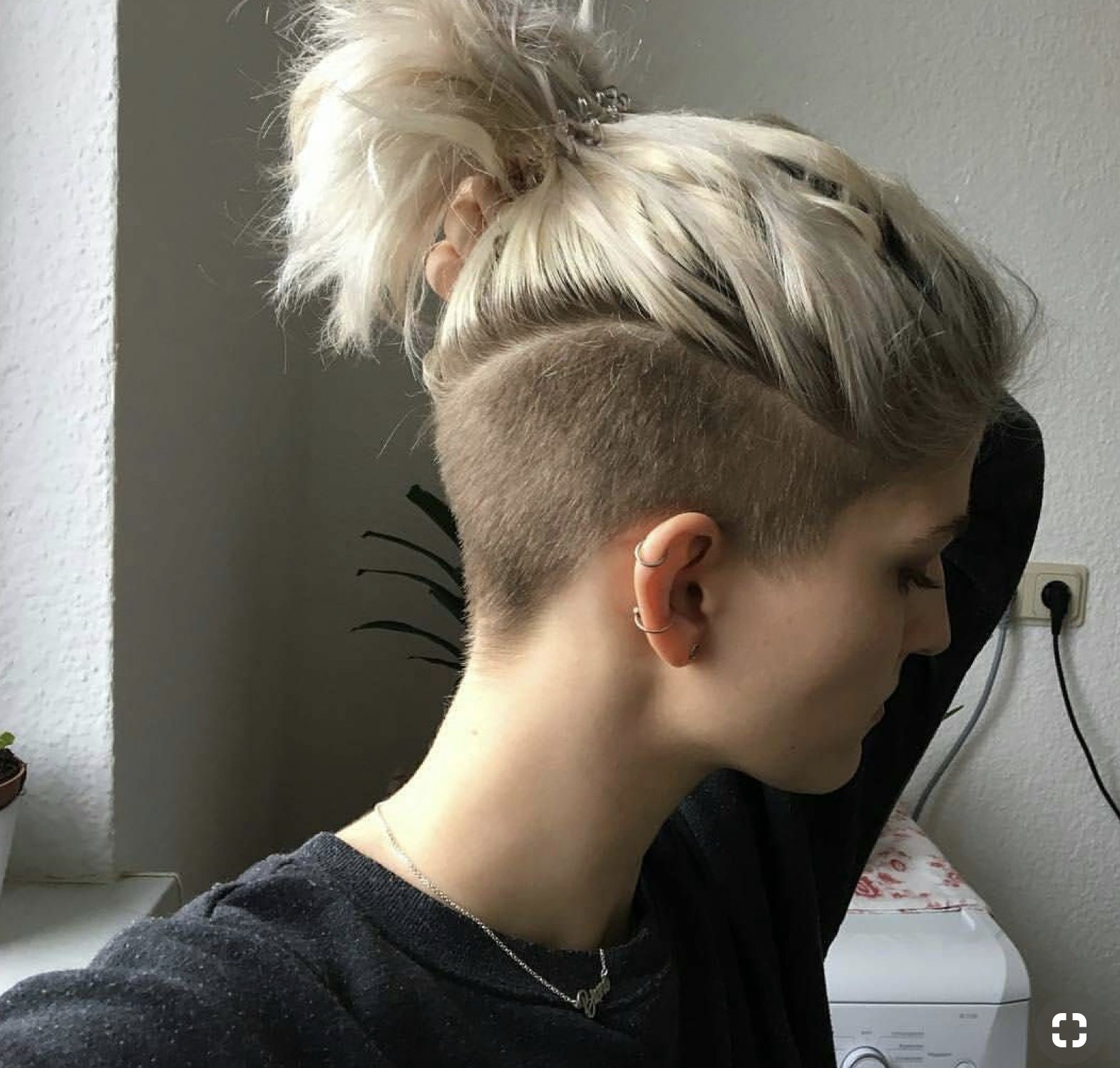 pin by katie griffin on hair in 2019 | hair, shaved hair