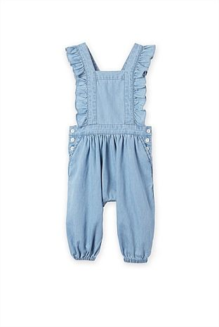 c7143ccfb2c Baby Girl s Dresses - Country Road Online - Chambray Romper - Country Road
