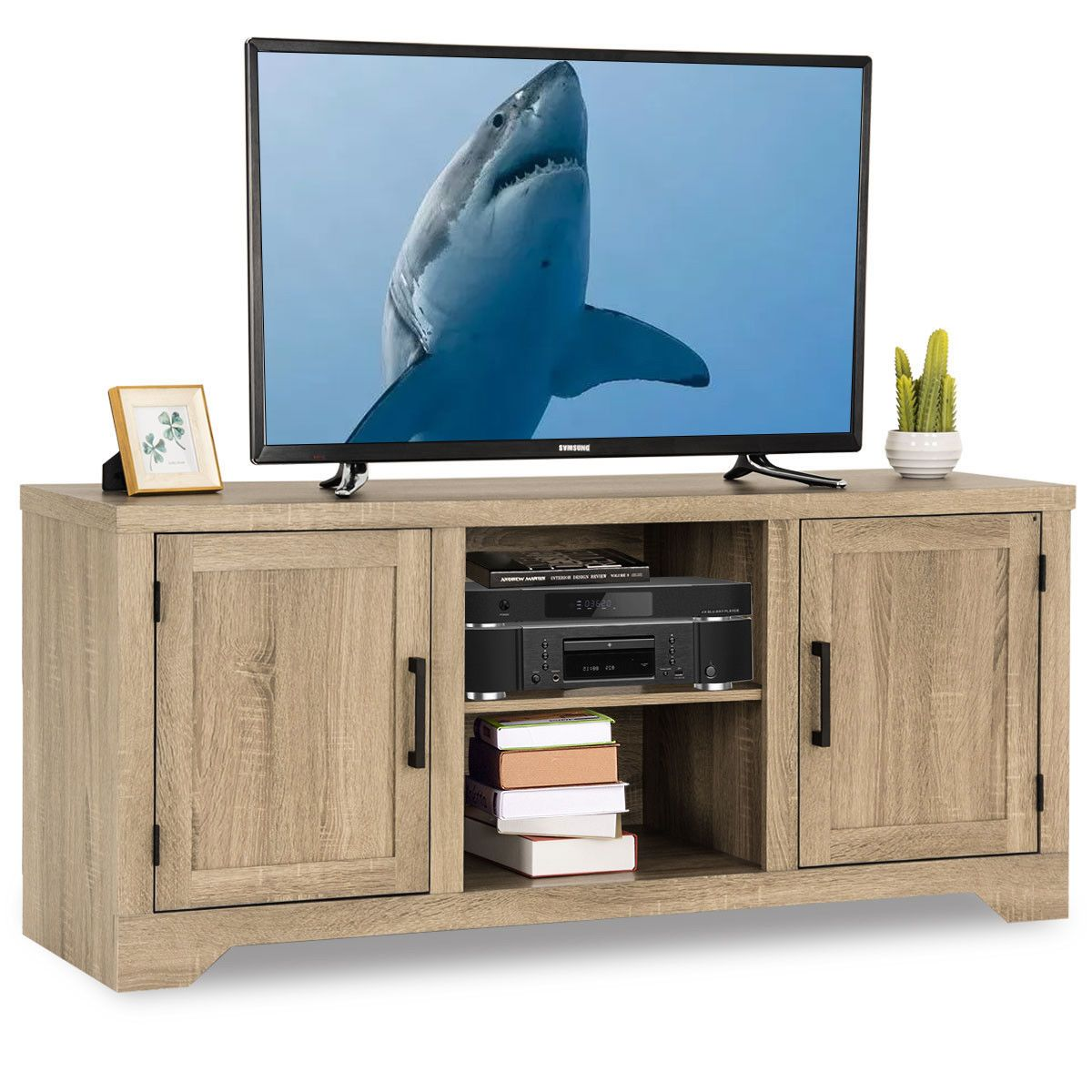 Free 2day shipping. Buy Gymax Rustic TV Stand