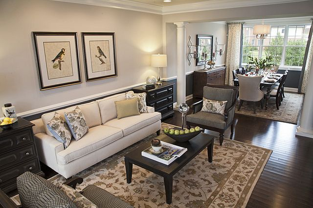 Hawthorn Woods Country Club, Columbia Model, Living Room ...
