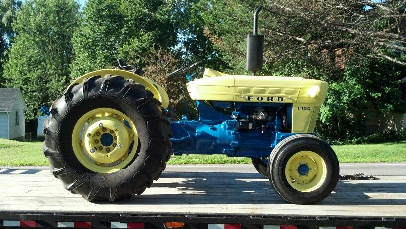 Ford 4400 Industrial Tractor : Ford tractor vehicals i ve built restored