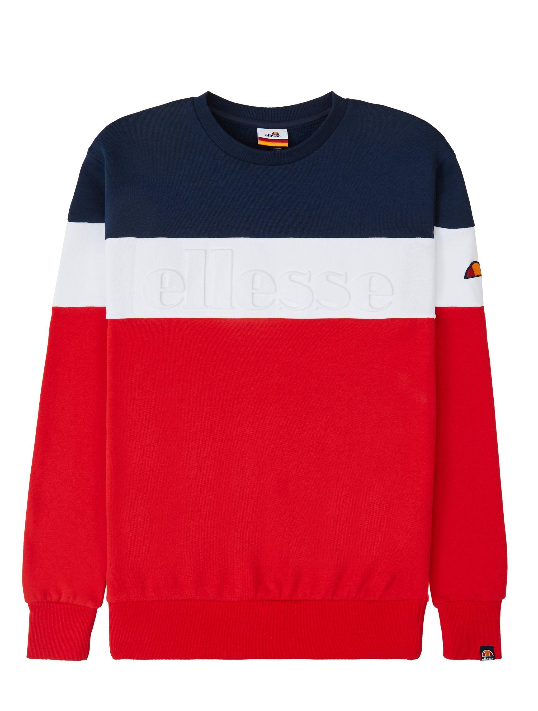 Ellesse Torre Sweatshirt Red | Sweatshirts, Ellesse, Navy color