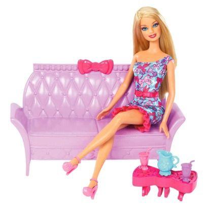 Barbie Glam Furniture Sets Home Decor