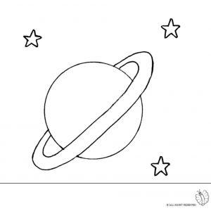 Disegno Di Saturno Da Colorare Disegni Da Colorare Pinterest