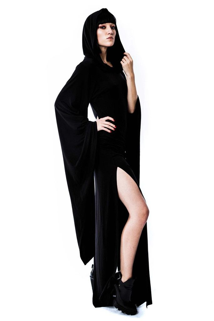 Conjuring Hood Dress B ☽ Witchy Things ☾ Killstar