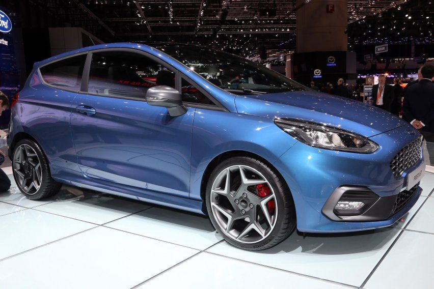 These 40 Cars Prove Geneva Is The Best Auto Show In The World Ford Fiesta St Ford Fiesta Fiesta St