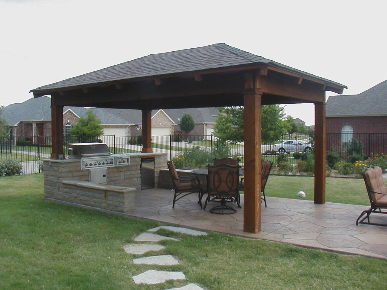 Terrace pergola design more picture terrace pergola design for Terrace gazebo