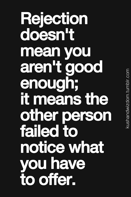 Quotes About Rejection : quotes, about, rejection, Smart, Fearing, Rejection, Rejected, Quotes,, Inspirational, Quotes