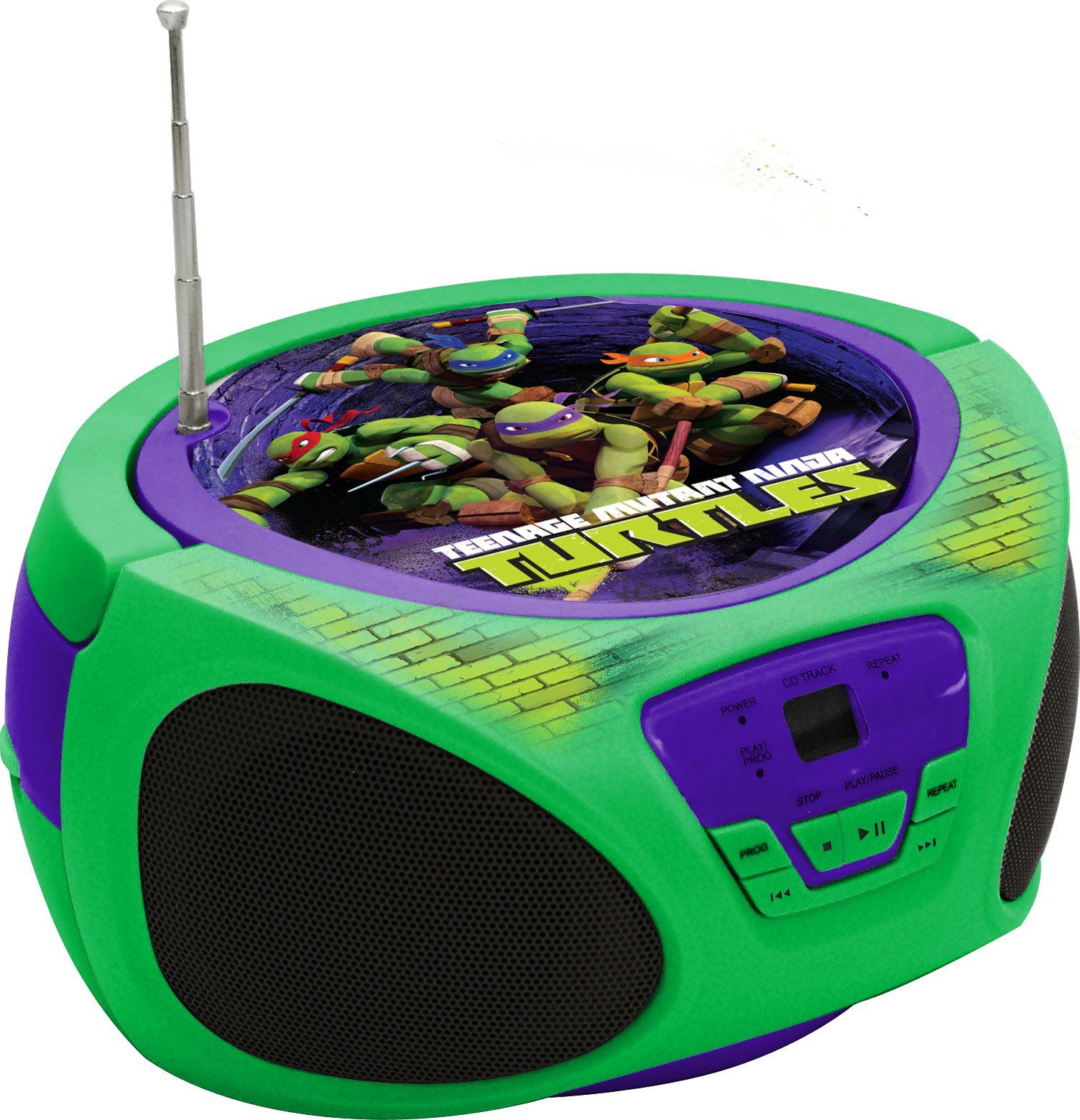 Teenage Mutant Ninja Turtles Boombox (57065) | Boomboxes | Pinterest