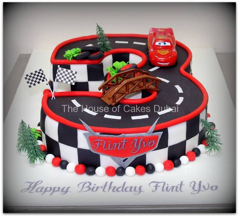 Disney Cars Mcqueen Cake 5