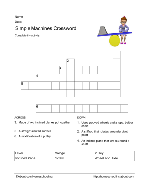 Printables To Learn About Simple Machines Simple Machines Simple Machines Activities Science Tools