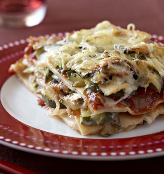Zucchini and goat lasagna  Ôdélices Easy cooking recipes  Zucchini and goat lasagna  Ôdélices Easy cooking recipes