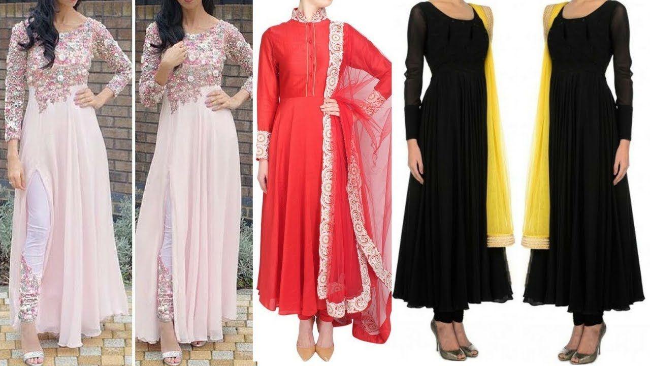 Fancy Kurti Designs 2018 || Fashionable Long kurti || Long ...