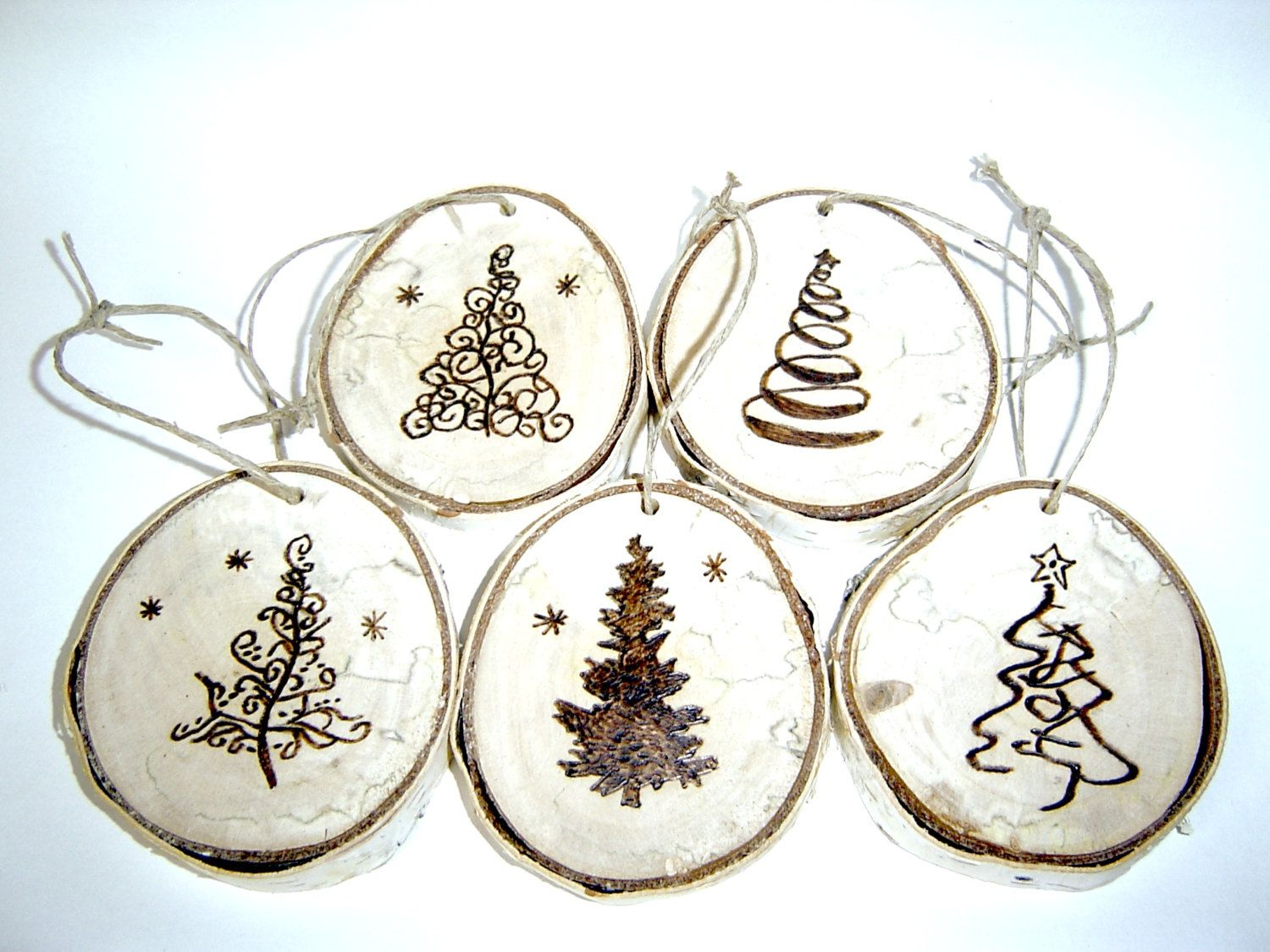 Image Result For Moose And Trees Wood Burning Stencil Wood Slice Ornament Wood Christmas Tree Wood Ornaments