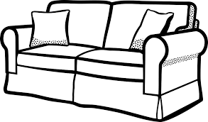 Sofa Black And White Clip Art Google Search Couch Furniture Household Furniture Sofa Drawing