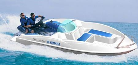 Wave boat- your jet ski attatches :) pretty awesome | CaRs, BoAtS AND bIkeS | Jet ski, Boat ...