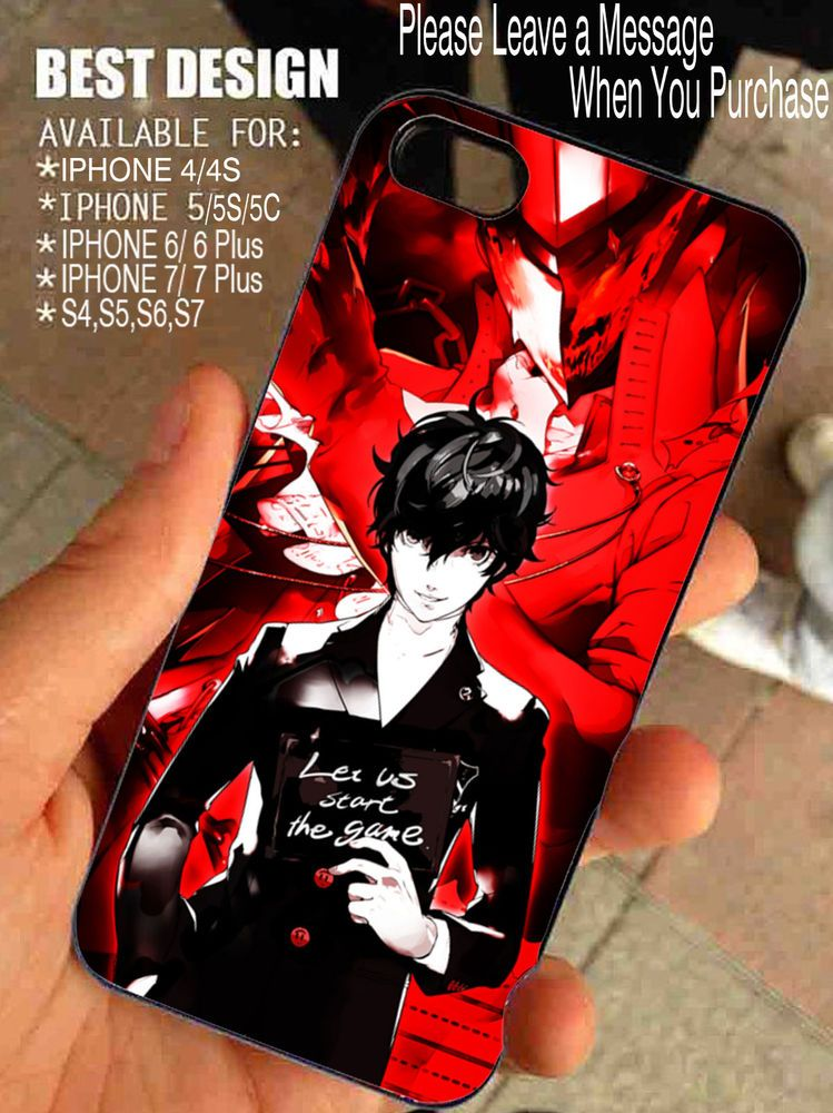 Let Us Start The Game Persona 5 For Iphone And Samsung Galaxy Case Brandnew