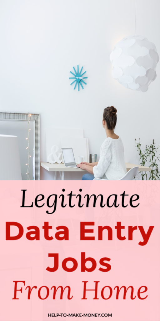 Top Data Entry Work At Home Jobs Legit Online Money Making Sites