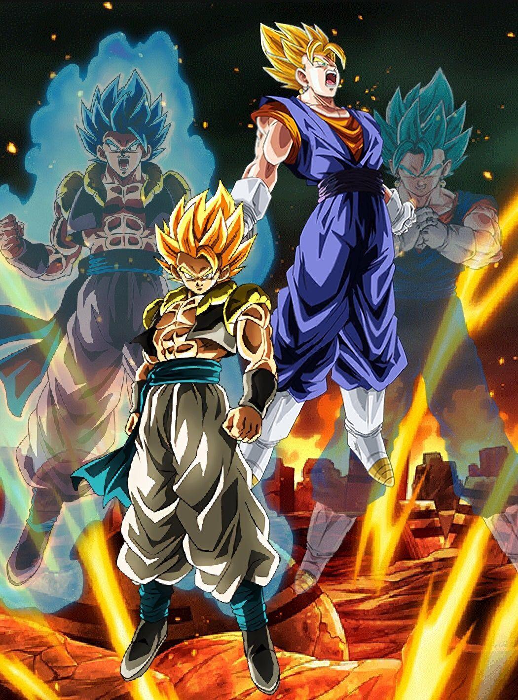 Dragon Ball Z Vegito Blue And Gogeta Blue Wallpaper Dragon Ball