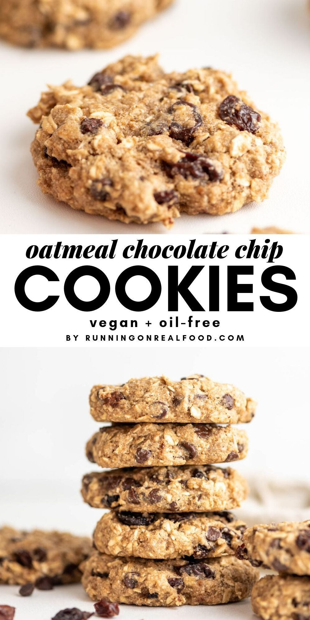 Vegan Oatmeal Raisin Chocolate Chip Cookies Recipe Vegan Oatmeal Chocolate Chip Cookies Oatmeal Raisin Chocolate Chip Cookies Vegan Oatmeal Raisin Cookies
