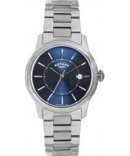 Mens Rotary Mens Timepieces Locarno Silver Steel Watch 155.00 Watches2U