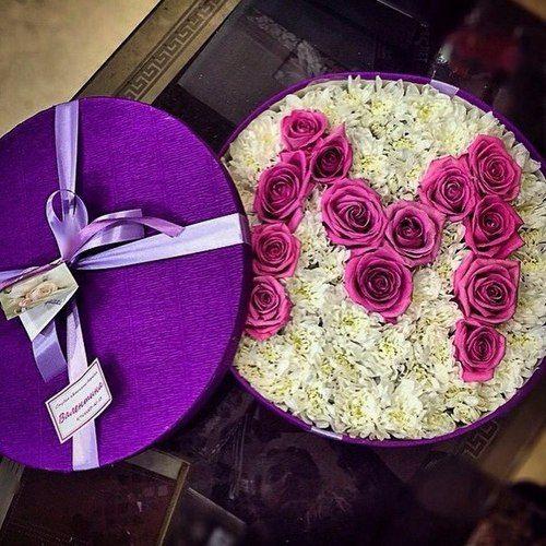 حرف M بالورد صور Luxury Flowers Rose Gift Good Morning Flowers