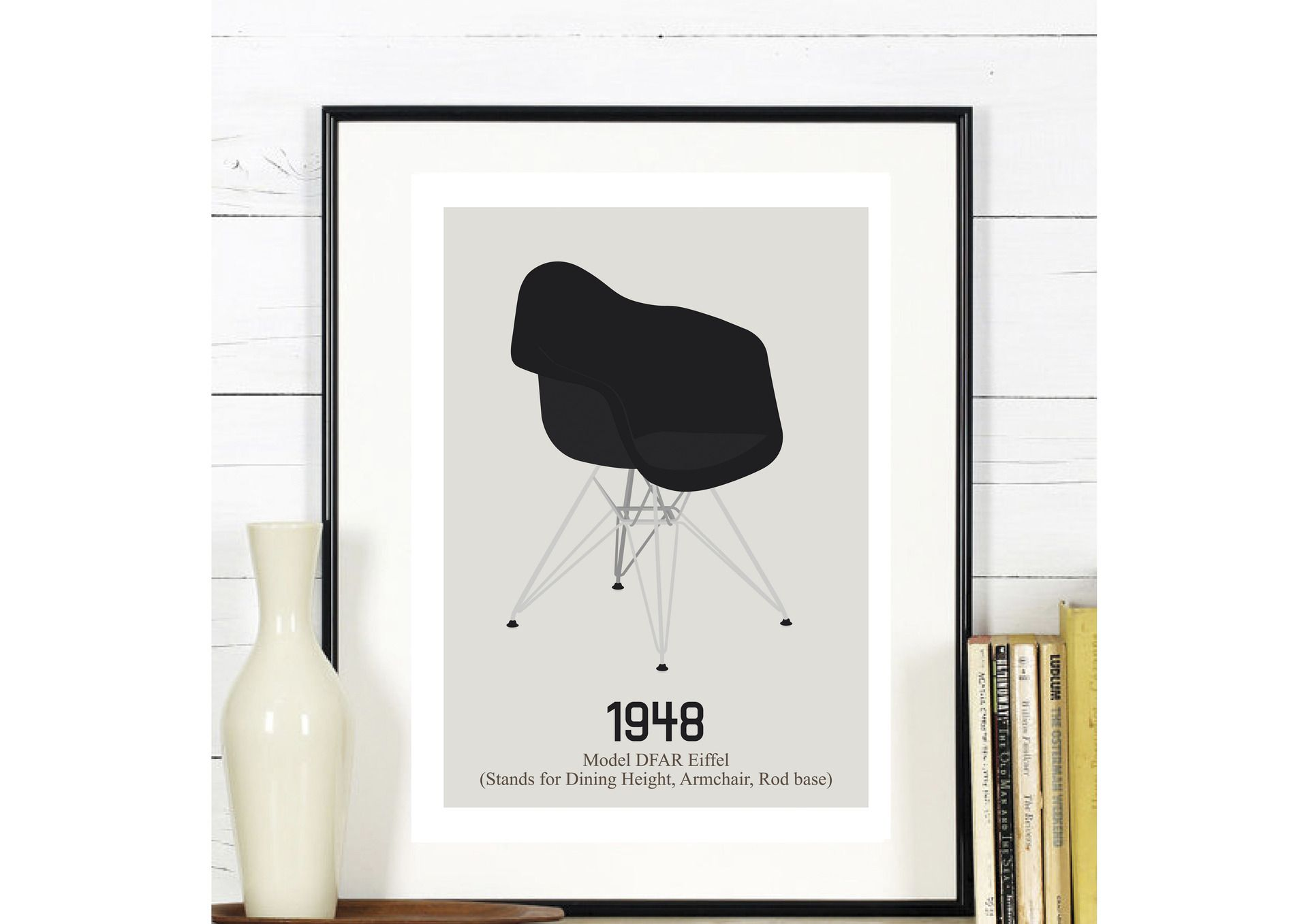 design moderne chaise inspiration scandinave affiches illustrations posters par rgb. Black Bedroom Furniture Sets. Home Design Ideas