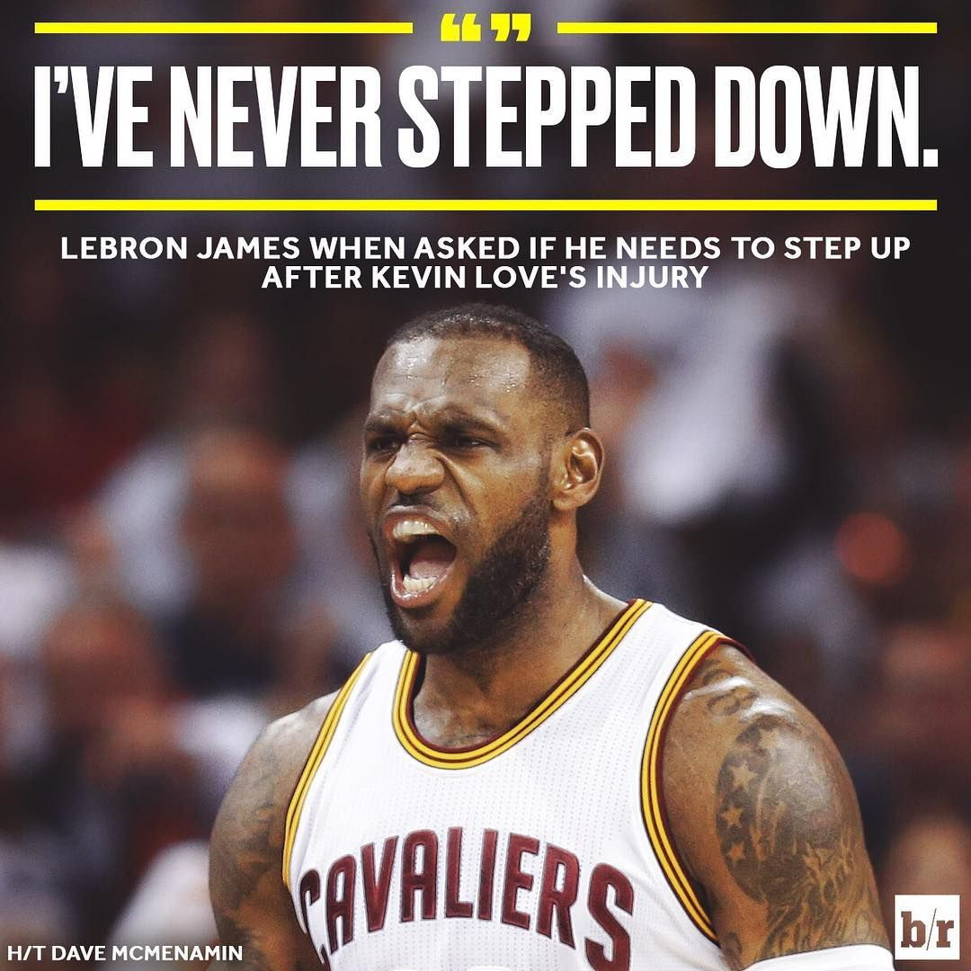LeBron's foot stays on the gas pedal Sports quotes
