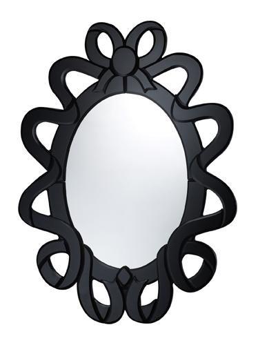 Mirrors, Dimond Lighting.    Mya Mirror in Black $178