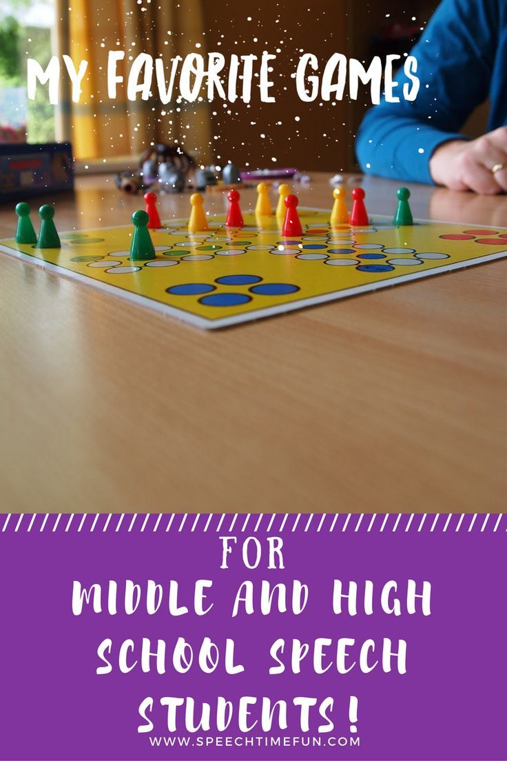 Games To Use With Middle High School With Images High School