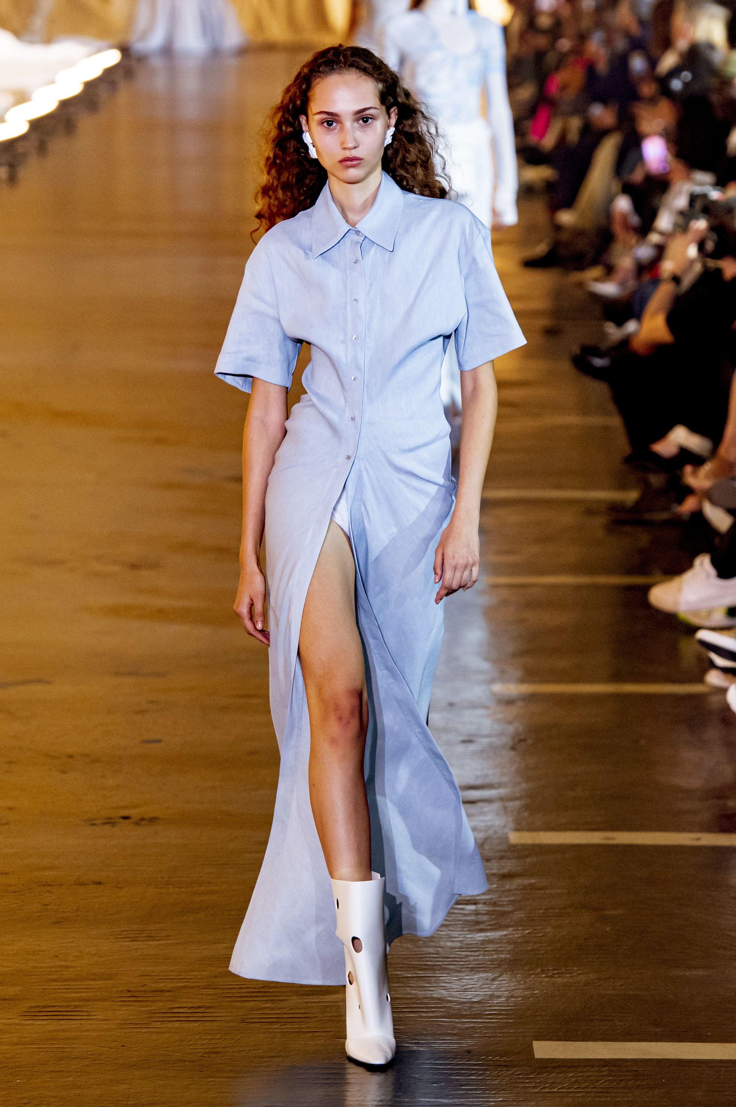 Oversize-Kleider im Hemdblusen-Stil 💕 Modetrend im ...