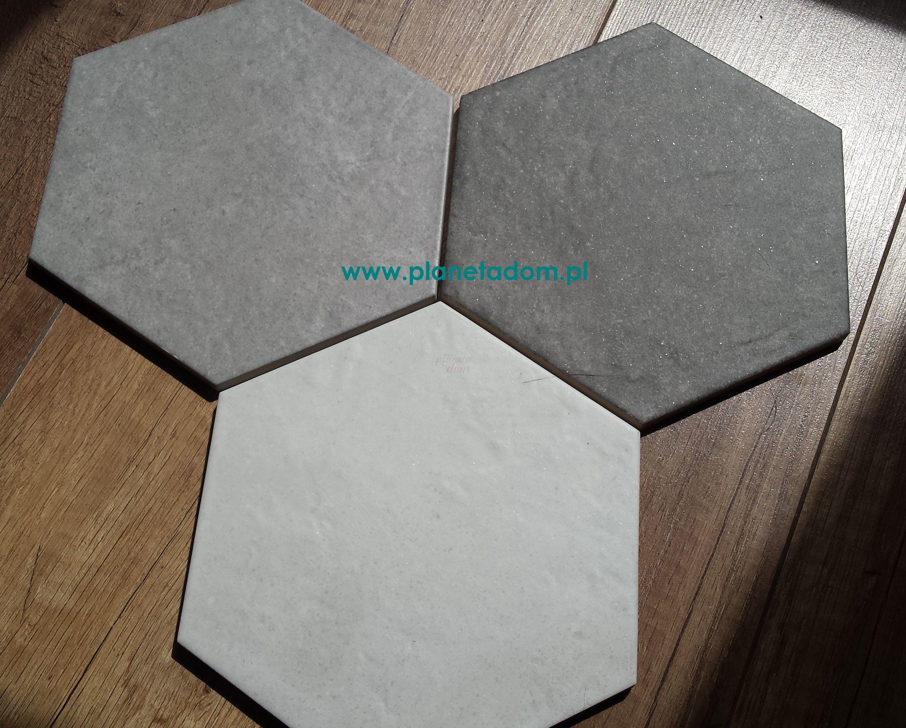 Equipe - Hexatile Cement White 17,5x20   Boden