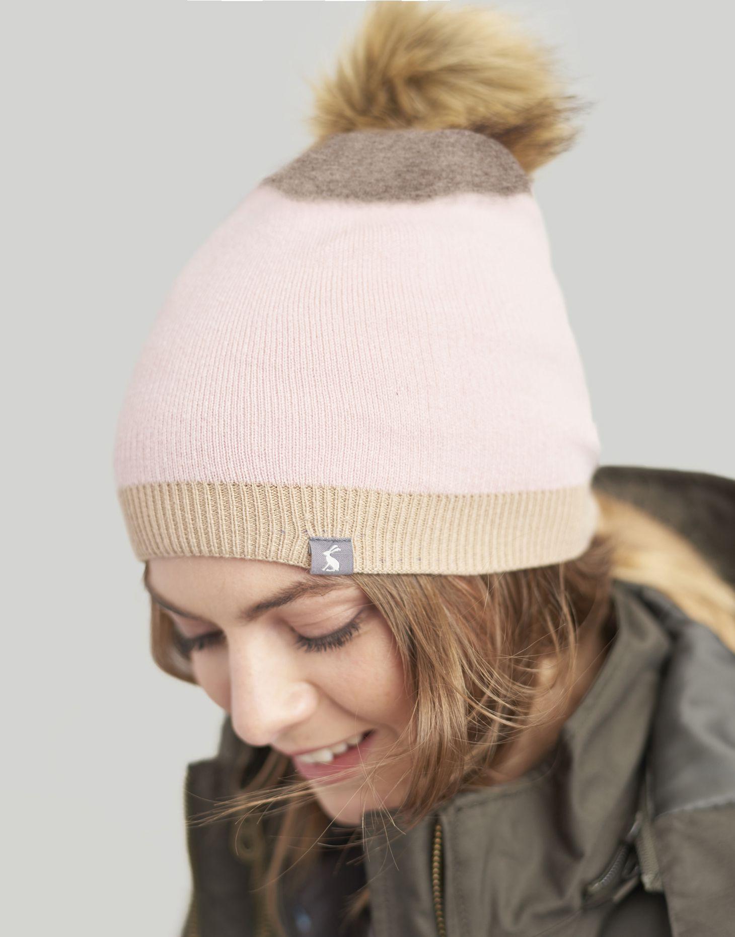 62e250763 Flurrywell null pop-a-pom Hat , Size One Size | Joules UK | POM POM ...