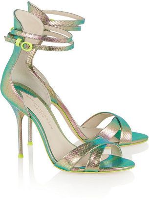 SOPHIA WEBSTER Nicole Leather Sandals Cheap Really Extremely Sale Ebay XcruXei80