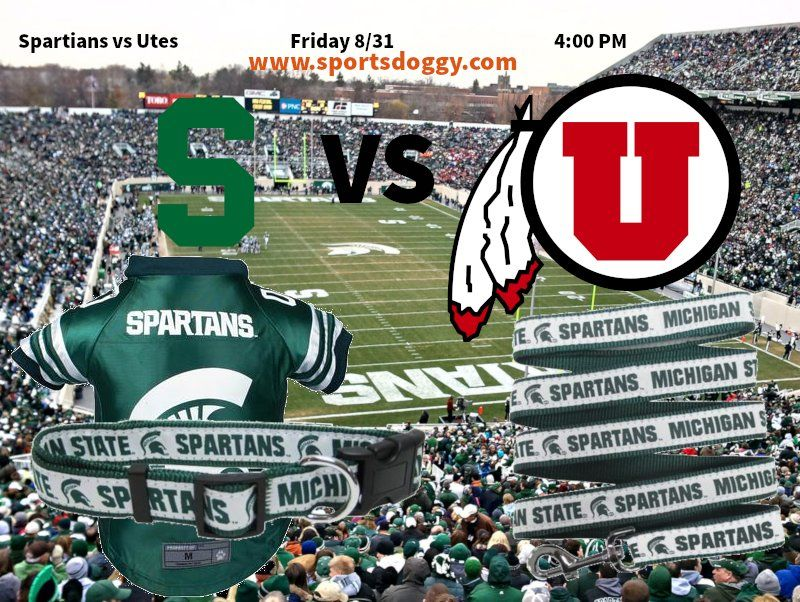 GoGreen MichiganState This Friday VS Utes it's Gameday